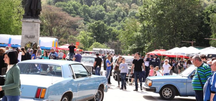 Парад на ретро автомобили Благоевград, Банско, Симитли 2017