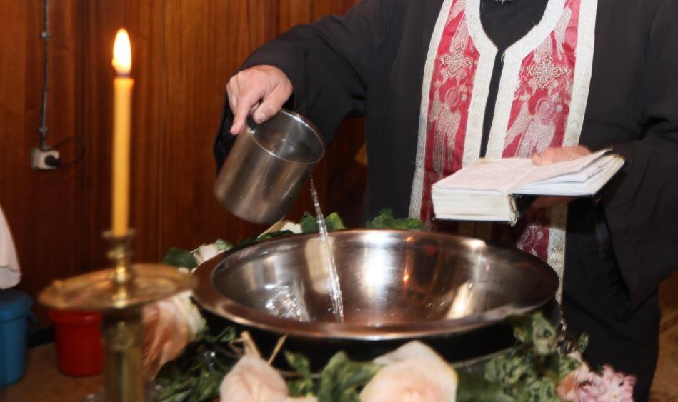 Заснемане на кръщене Благоевград
